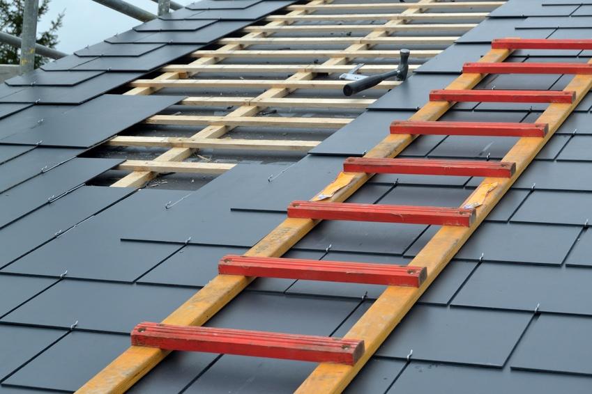 échelle de toiture